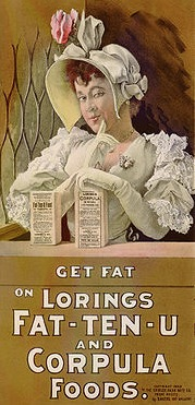 'Get Fat' Advert.