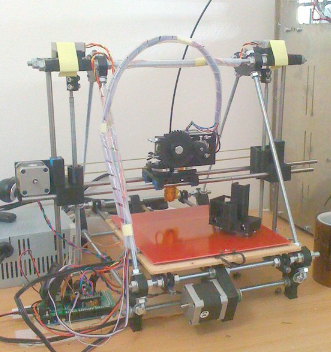 The Prusa Mendel RepRap 3D Printer from RepRap.org